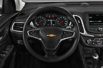 Car pictures of steering wheel view of a 2020 Chevrolet Equinox LT 5 Door SUV