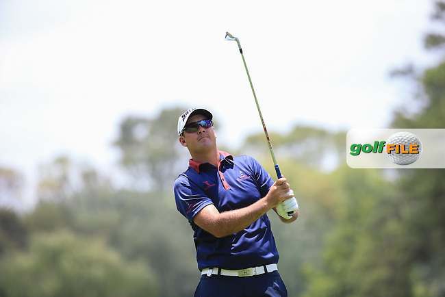 Mark Williams (ZIM) in action during Round Three of the 2016 BMW SA Open hosted by City of Ekurhuleni, played at the Glendower Golf Club, Gauteng, Johannesburg, South Africa.  09/01/2016. Picture: Golffile | David Lloyd<br /> <br /> All photos usage must carry mandatory copyright credit (&copy; Golffile | David Lloyd)