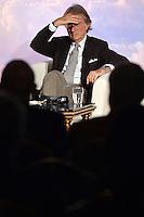 Luca Cordero di Montezemolo Chairman of Alitalia. Presidente di Alitalia. <br /> Roma 20-01-2015 St. Regis Hotel Presentazione nuova Alitalia a seguito del completamento degli investimenti azionari da parte di Etihad Airways. Unveiled the strategic plan for the new Alitalia following the completion of equity onvestments dy Etihad Airways and Alitalia's existing shareholders. <br /> Photo Andrea Staccioli/Insidefoto