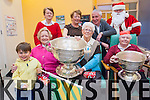 Santa brought the Sam Maguire to Holy Cross Day Care Centre in KIllarney on Thursday last. <br /> Front L-R Matthew Myles, Bridie Riordan, Maureen O'Mahony and Maura O'Sullivan. <br /> Back L-R Shelia McGillycuddy (Nurse manager), Pearl O'Connell and Jimmy Mulligan (chairman of Killarney Community Services).