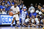 04 November 2016: Duke's Matt Jones (13). The Duke University Blue Devils hosted the Augustana University Vikings at Cameron Indoor Stadium in Durham, North Carolina in a 2016-17 NCAA Division I Men's Basketball exhibition game.