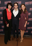 Beth Leavel, Corey Cott and Laura Osnes attend the 'Bandstand' Broadway cast photo call at the Rainbow Room on March 7, 2017 in New York City.