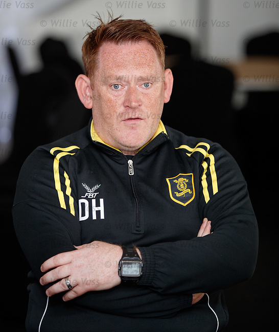 16.05.2018 Livingston FC training and presser: David Hopkin