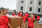 Students move in to dorms for the start of the 2017-2018 school year. Photo by Thomas Graning/Ole Miss Communications