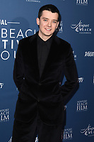 Asa Butterfield<br /> arriving for the Newport Beach Film Festival UK Honours 2020, London.<br /> <br /> ©Ash Knotek  D3551 29/01/2020