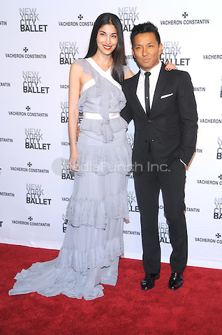 New York, NY- May 8: Designer Prabal Gurung and guest attend the 2014 New York City Ballet Spring Gala at the David H. Koch Theater at Lincoln Center on May 8, 2014 in New York City.  Credit: John Palmer/MediaPunch