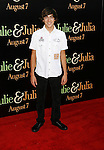 "WESTWOOD, CA. - July 27: Vincent Martella arrives at the Los Angeles screening  of ""Julie & Julia"" at the Mann Village Theatre on July 27, 2009 in Westwood, California."