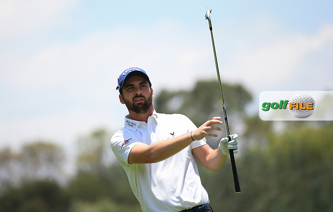 Thomas Linard (FRA) in action during Round Three of the 2016 BMW SA Open hosted by City of Ekurhuleni, played at the Glendower Golf Club, Gauteng, Johannesburg, South Africa.  09/01/2016. Picture: Golffile | David Lloyd<br /> <br /> All photos usage must carry mandatory copyright credit (&copy; Golffile | David Lloyd)