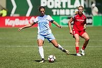 Portland, OR - Saturday August 05, 2017: Carli Lloyd during a regular season National Women's Soccer League (NWSL) match between the Portland Thorns FC and the Houston Dash at Providence Park.