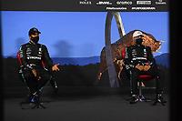 4th July 2020; Red Bull Ring, Spielberg Austria; F1 Grand Prix of Austria, qualifying sessions;  44 Lewis Hamilton GBR, Mercedes-AMG Petronas Formula One Team, 77 Valtteri Bottas FIN, Mercedes-AMG Petronas Formula One Team