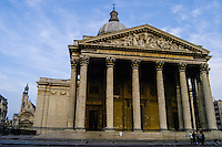The Panthéon in the Latin Quarter in Paris, France. Now serving as a Mausoleum.
