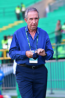 PALMASECA-COLOMBIA,09 -09-2018.GerardoPelusso director técnico del Deportivo Cali contra La  Equidad durante partido por la fecha 9 de la Liga Águila II 2018 jugado en el estadio Deportivo Cali de la ciudad de Palmira./ Gerardo Pelusso coach  of Deportivo Cali  agsint La Equidad during the match for the date 9 of the Aguila League II 2018 played at Alfonso Lopez  stadium in Palmaseca city. Photo: VizzorImage/ Nelson Rios / Contribuidor