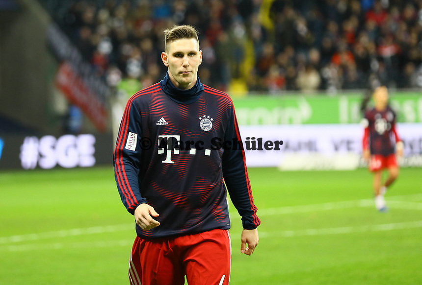 Niklas Süle (FC Bayern Muenchen) - 22.12.2018: Eintracht Frankfurt vs. FC Bayern München, Commerzbank Arena, DISCLAIMER: DFL regulations prohibit any use of photographs as image sequences and/or quasi-video.