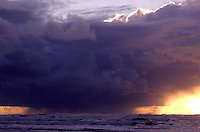 S00039.tiff   Thunderstorm and sunset. Near Newport, Oregon