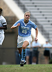 Lindsay Tarpley, of UNC, on Sunday September 18th, 2005 at Duke University's Koskinen Stadium in Durham, North Carolina. The University of North Carolina Tarheels defeated the University of Alabama-Birmingham Blazers 4-0 during the Duke adidas Classic soccer tournament.