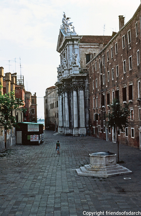 Venice:  3 Minute Walk--9.  Campo Dei Gesuiti.  Photo '83.