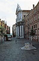Venice:  3 Minute Walk--9.  Campo Dei Gesuiti.  Photo '83.