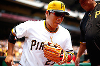 July 5, 2015: Cleveland Indians vs Pittsburgh Pirates