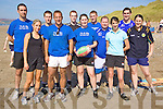 Tag - Members of the 1's & 0's Team who took part along with 29 other teams from around the country in the Sony Ericsson Beach Tag Grand Finales which took place on Banna Beach on Saturday afternoon. Front l/r Catherine O'Shea, Sneem, David Sharp, Tralee, Eimer Doyle, Fenit, Eileen O'Sullivan, Tralee and Anne O'Keefe, Abbeydorney. Back l/r Donal Regan, Tralee, Kieran Laffan, Tralee, Neil Begley, Dingle, Daniel Doyle, Fenit, Gareth Whitford, Cork and David Culloty, Tralee...................................................................................................................................................................................................................................................................... ............