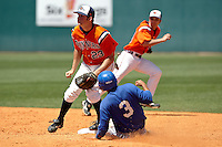 SAN ANTONIO, TX - MARCH 29, 2009: The Texas A&M University Corpus Christi Islanders vs. The University of Texas at San Antonio Roadrunners Baseball at Roadrunner Field. (Photo by Jeff Huehn)