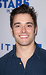 Corey Cott backstage at United presents 'Stars in the Alley' in  Shubert Alley on May 27, 2015 in New York City.