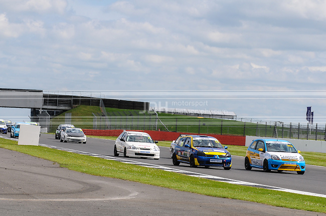 Neil House/Andy Tate - HT Racing Renault Clio 172 & Kevin Stirling - Team Norfolk Ford Fiesta ST