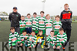 Killarney Celtic FC Team 1 Under 10 at the at the Killarney Celtic FC fundraiser for Bernardos last Sunday.