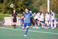 Boston, MA - Sunday September 10, 2017: Tiffany Weimer during a regular season National Women's Soccer League (NWSL) match between the Boston Breakers and Portland Thorns FC at Jordan Field.