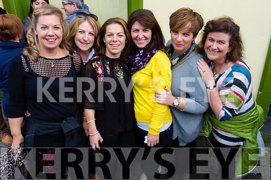 Pictured at the Dingle Food Festival on Saturday afternoon last, were l-r: Rochelle Lucey, Killorglin, Niamh Cullinane (Cloghane) Mary Normoyle (Cloghane) Catherine Breen (Killorglin) with chefs Nicky Foley and Shane Scanlon, Caragh Edwards (Killorglin), Caríosa Geraghty (Lispole), Norma Tyther (Killorglin) and Deirdre Ní Chinnéide (Dingle).