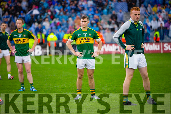 James O'Donoghue Kerry players at the end of the Kerry v Dublin All Ireland Senior Football Final in Croke Park on the 20th September 2015.