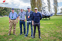 SOARING TO NEW LEVELS:  Richard Gardner (and his father); Bruce Goodin and Daniel Meech. Taking to the Airwaves to get a birds-eye view of this gorgeous venue. Takapoto Estate Show Jumping. Saturday 3 March. Takapoto Estate. Maungatautari. New Zealand. Copyright Photo: Libby Law Photography