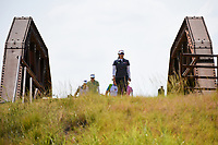 Moriya Jutanugarn (THA) makes her way across the bridge to the tee on 2 during the round 2 of the Volunteers of America Texas Classic, the Old American Golf Club, The Colony, Texas, USA. 10/4/2019.<br /> Picture: Golffile | Ken Murray<br /> <br /> <br /> All photo usage must carry mandatory copyright credit (© Golffile | Ken Murray)