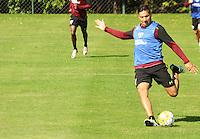 SÃO PAULO,SP,28.07.2016 - FUTEBOL-SÃO PAULO - Chávez durante treino técnico da equipe no Ct da Barra Funda zona oeste da cidade, na manhã desta quinta-feira (28). (Foto : Marcio Ribeiro / Brazil Photo Press)