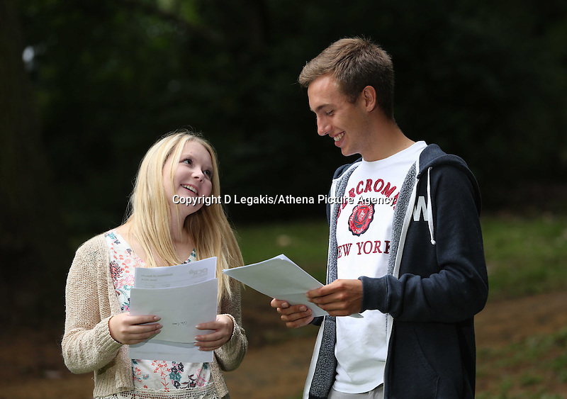 Pictured L-R: Celia Crees and Ben Francis.<br />