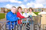 Here to help: Launching their first fundraising night with a table quiz on May 1st are the members of the new St Joseph's Primary School in Ballybunion Parent's Council. PIctured are Tony Moore, (quizmaster), Eilish Stack, (Parents Council), Joan Lyons, (Principal) and Aileen McCarthy, (Parent's Council).