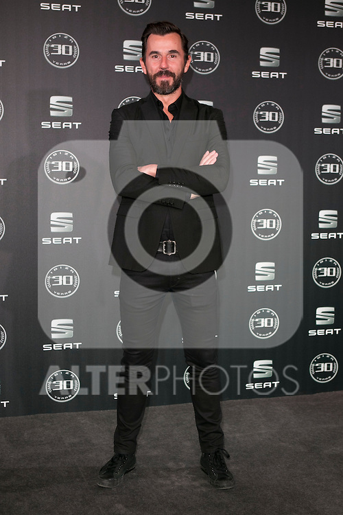 Santi Millan attends the 30th Anniversary Party Of Seat IBIZA Car at COAM in Madrid, Spain. November 6, 2014. (ALTERPHOTOS/Carlos Dafonte)