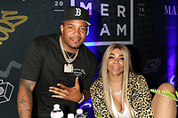 NEW YORK, NY - JUNE 2, 2019 DJ Boof & Wendy Williams backstage at Summer Jam at Met Life Stadium, June 2, 2019 in East Rutherford, NJ. <br /> CAP/MPIWG<br /> ©WG/MPI/Capital Pictures