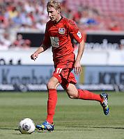 Fussball  1. Bundesliga  Saison 2013/2014  2. Spieltag VfB Stuttgart - Bayer Leverkusen     17.08.2013 Stefan Kiessling (Bayer 04 Leverkusen) am Ball