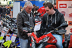 Nederland, Utrecht, 26-02--2015.  Eerste dag  van de Motorbeurs in de Jaarbeurs die duurt t/m1 maart.  FOTO: Gerard Til / Hollandse Hoogte
