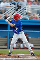 Auburn Doubledays outfielder Billy Burns #31 during a game against the Batavia Muckdogs at Dwyer Stadium on September 3, 2011 in Batavia, New York.  Auburn defeated Batavia 2-1.  (Mike Janes/Four Seam Images)