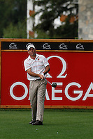 Keith Horne (RSA) on the 2nd during the final day of the Omega European Masters, Crans-Sur-Sierre, Crans Montana, Switzerland.4/9/11.Picture: Golffile/Fran Caffrey..