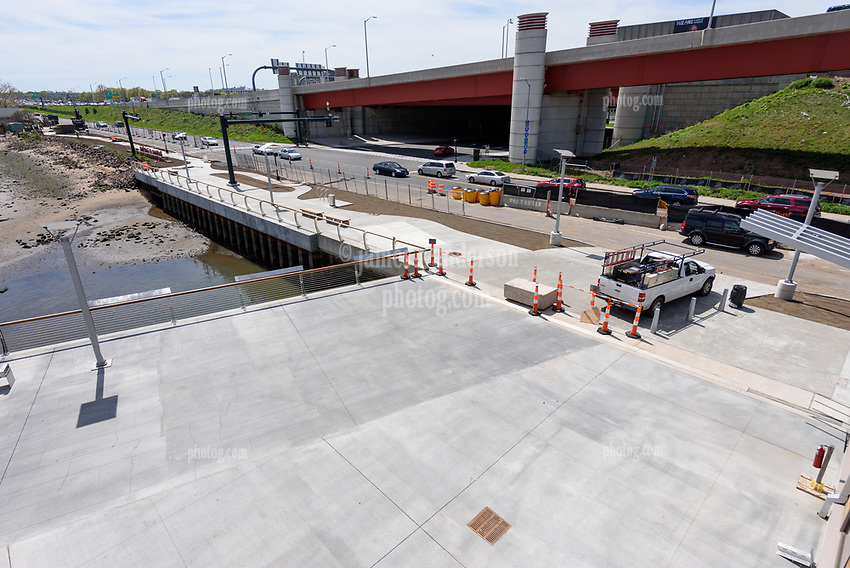 Boathouse at Canal Dock Phase II   State Project #92-570/92-674 Construction Progress Photo Documentation No. 22 on 11 May 2018. Image No. 01