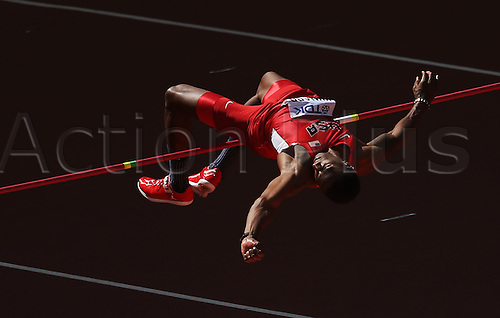 28.08.2015. Birds Nest Stadium, Beijing, China.  Erik Kynard of the USA in action during the Man's High Jump Qualification at the 15th International Association of Athletics Federations (IAAF) Athletics World Championships at the National stadium, known as Bird's Nest, in Beijing, China, 28 August 2015.