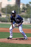 Enyel De Los Santos - San Diego Padres 2016 spring training (Bill Mitchell)