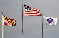 Washington Freedom Flag.   Washington Freedom tied Chicago Red Stars 1-1  at The Maryland SoccerPlex, Saturday April 11, 2009.