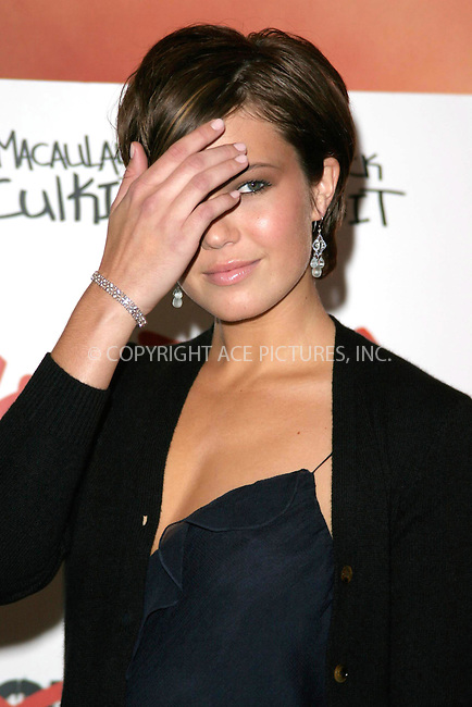 WWW.ACEPIXS.COM . . . . .  ... . . . . US SALES ONLY . . . . ...LONDON, UK, OCTOBER 21, 2004: Mandy Moore at the Saved screening in London. Please byline: Fred Duval-FAMOUS-ACE PICTURES.... . . . .  ....Ace Pictures, Inc:  ..Alecsey Boldeskul (646) 267-6913 ..Philip Vaughan (646) 769-0430..e-mail: info@acepixs.com..web: http://www.acepixs.com
