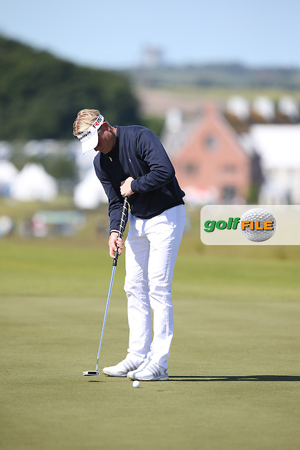 Peter Hedblom (SWE) during Round Two of the 2015 Nordea Masters at the PGA Sweden National, Bara, Malmo, Sweden. 05/06/2015. Picture David Lloyd | www.golffile.ie
