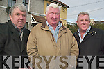 REMINSCING: Remembering the old Mitchel's at a street party on Friday afternoon from l-r were: Charlie Quilligan, John Quilligan and Francie O'Brien.   Copyright Kerry's Eye 2008