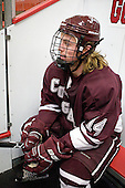 John Lidgett (Colgate - 14) - The Harvard University Crimson defeated the visiting Colgate University Raiders 4-2 on Saturday, November 12, 2011, at Bright Hockey Center in Cambridge, Massachusetts.