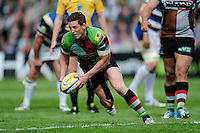 Tom Williams of Harlequins in action during the Aviva Premiership match between Harlequins and Bath Rugby at The Twickenham Stoop on Saturday 10th May 2014 (Photo by Rob Munro)